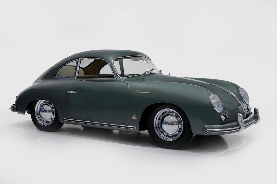 1955 Porsche 356 Pre-A Continental Coupé  Chassis no. 53846 Engine no. 35286
