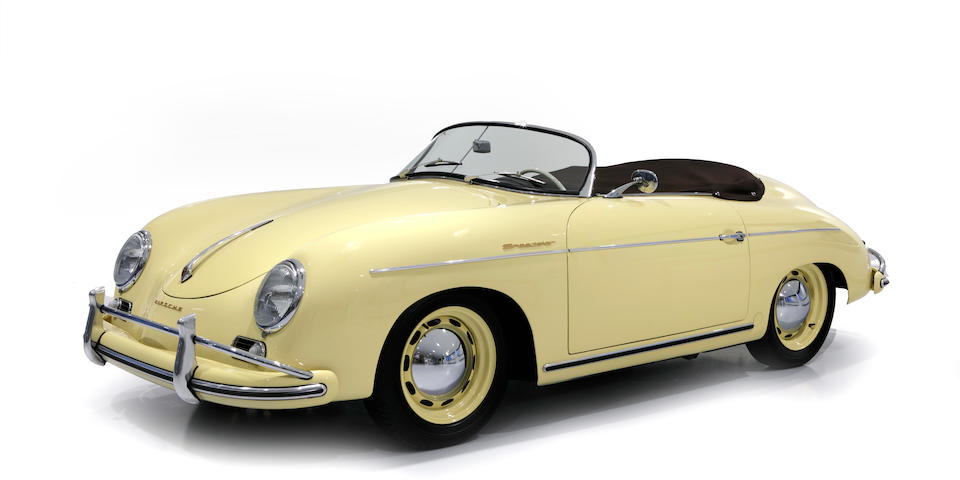 1955 Porsche 356 Pre-A Speedster 1500 Super   Chassis no. 80 363 Engine no. 41 109