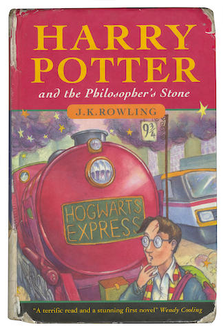 ROWLING (J.K.) Harry Potter and the Philosopher's Stone, FIRST EDITION, FIRST ISSUE, Bloomsbury, 1997