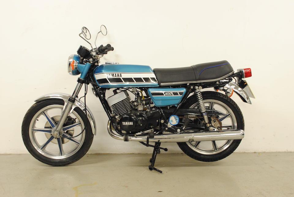 1976 Yamaha RD400 Frame no. 1A3-002993 Engine no. 1A3-002993