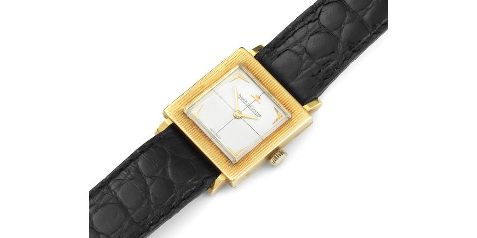 Jaeger-LeCoultre. An 18K gold manual wind wristwatch