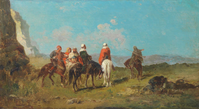 Georges Washington (French, 1827-1910) The hunt