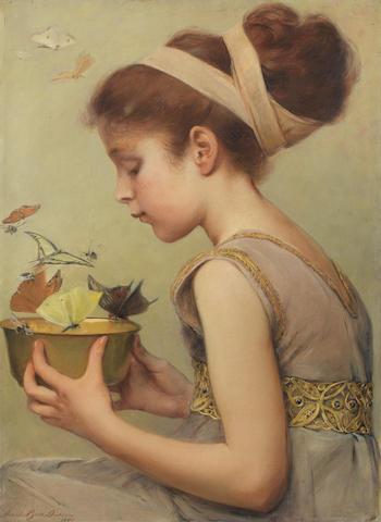 Sarah Paxton Ball Dodson (American, 1847-1906) Butterflies