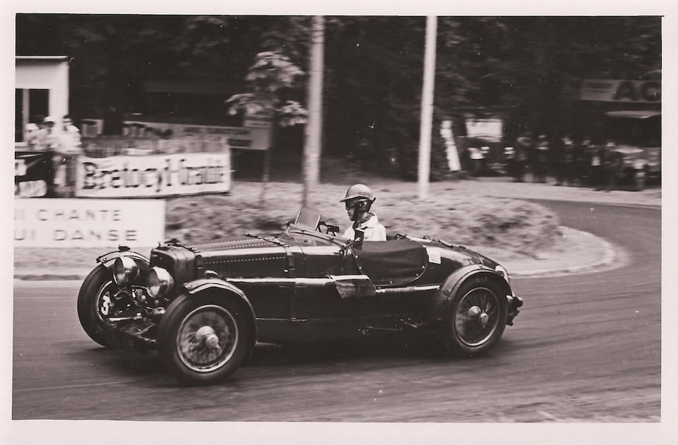 1935 Le Mans 24H works entry, 5th in class,1935 Aston Martin Ulster 'CML 719'  Chassis no. A5/537/U Engine no. A5/537/U