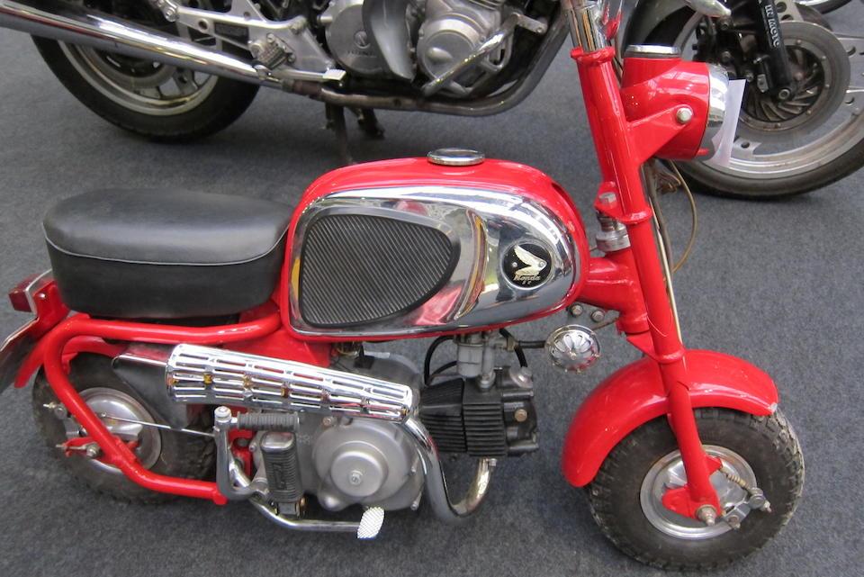 Bonhams : c 1966 Honda 50cc CZ100 'Monkey Bike' Frame no