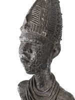 Benedict Chukwukadibia Enwonwu M.B.E (Nigerian, 1917-1994) Anyanwu (1956) 236 x 71 x 45cm (92 15/16 x 27 15/16 x 17 11/16in).
