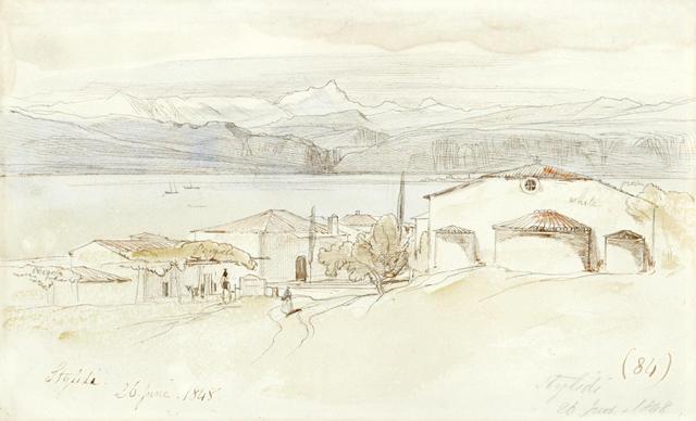Edward Lear (British, 1812-1888) Stylida, Greece