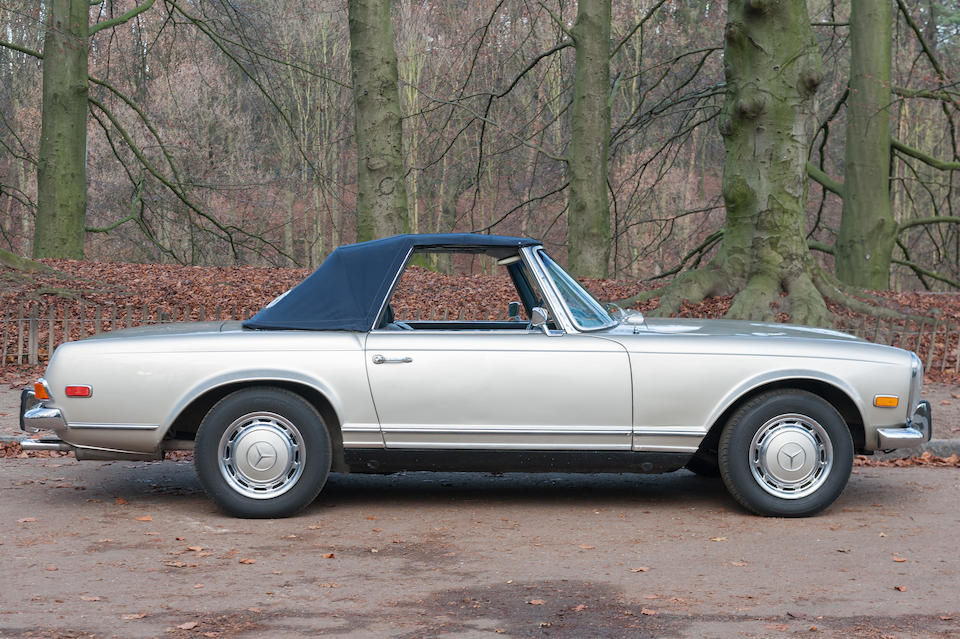1970 Mercedes-Benz 280 SL Pagode  Chassis no. 113044-10-022545 Engine no. 130983-10-007861