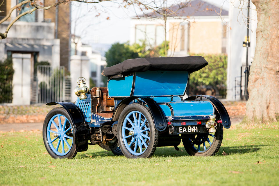 Three family ownerships since 1903,1902 Panhard-Levassor Type A Two-Cylinder 7HP Voiturette   Chassis no. 5139