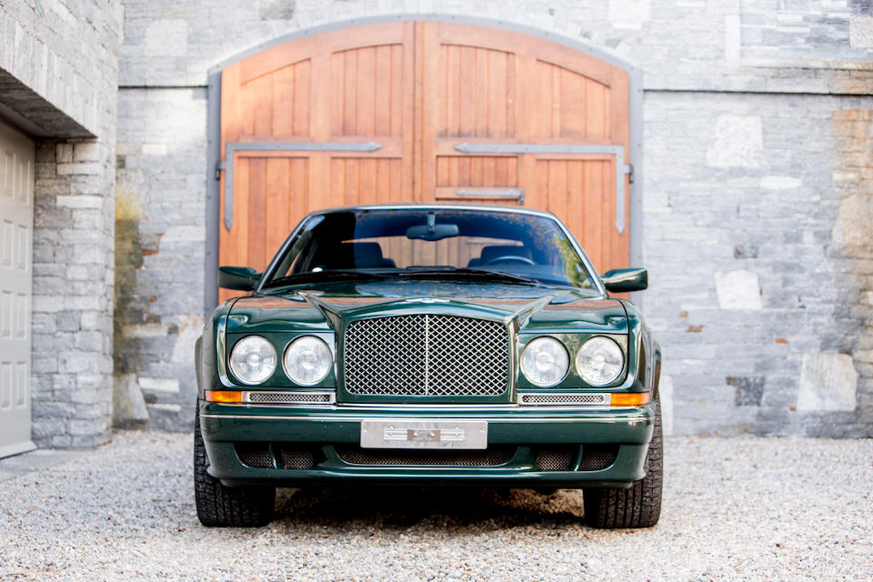 Single ownership from new,2001 Bentley  Continental Le Mans Coupe  Chassis no. SCBZB25E72LX01754