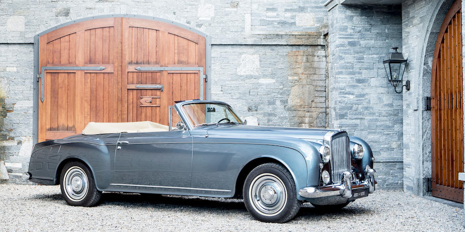 The ex-George Embiricos,1957 Bentley  S1 Continental Drophead Coupe  Chassis no. BC.30.LHC Engine no. BC.29.C