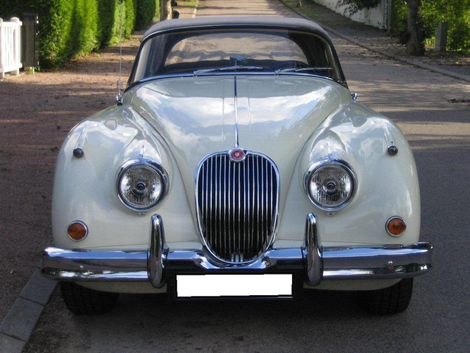 Jaguar XK150SE 3,4 litres roadster 1958