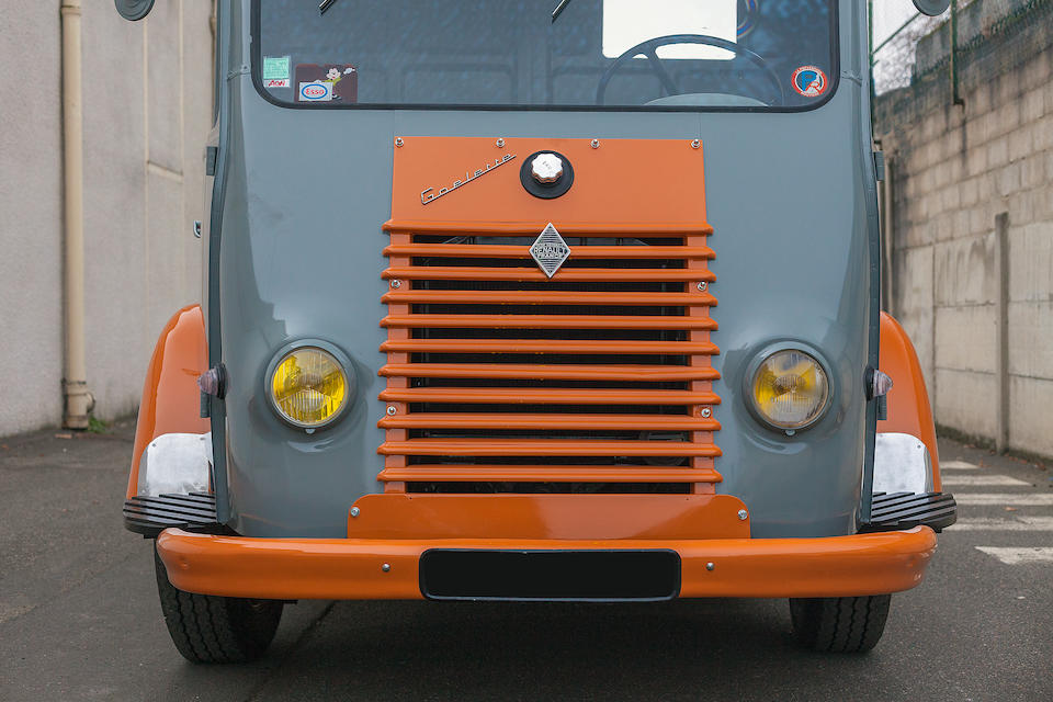 1961 Renault Camionnette  Chassis no. 09100283