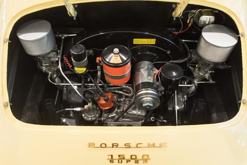 Porsche 356 1500 Super Speedster « pré A » 1955