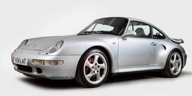 1996 Porsche 911 Turbo  Chassis no. WPOZZZ992TS372174