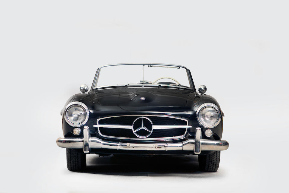 1956 Mercedes-Benz 190 SL Convertible  Chassis no. 1210426502351