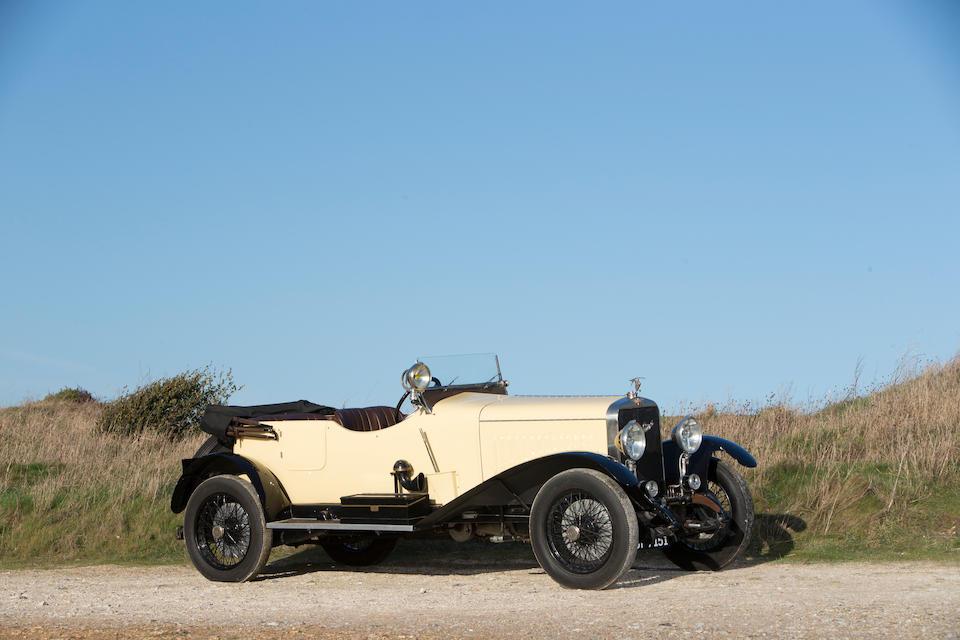 1928 Hispano Suiza T49  Chassis no. 7/37 Engine no. 7/37