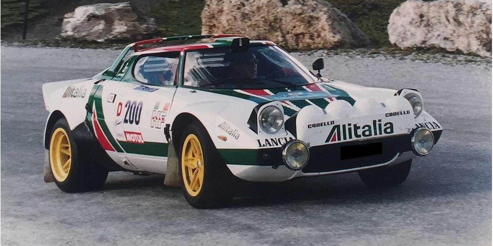 Lancia Stratos Groupe 4 coupé 1976