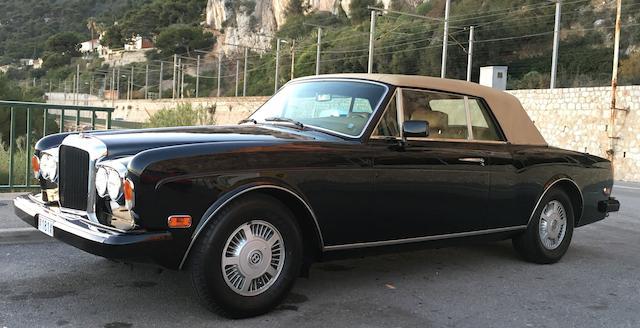 Bentley Continental cabriolet 1987