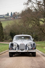 Jaguar XK150 3,8 litres coupé 1957  Chassis no. S834413 BW Engine no. V 1545 8