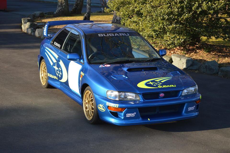 1997 Subaru Impreza 22B-STI Limited Edition Prototype  Chassis no. GC8-061819