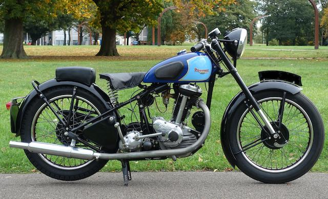 1948 Panther 348cc Redwing Model 70 Frame no. 20945 Engine no. 80910A