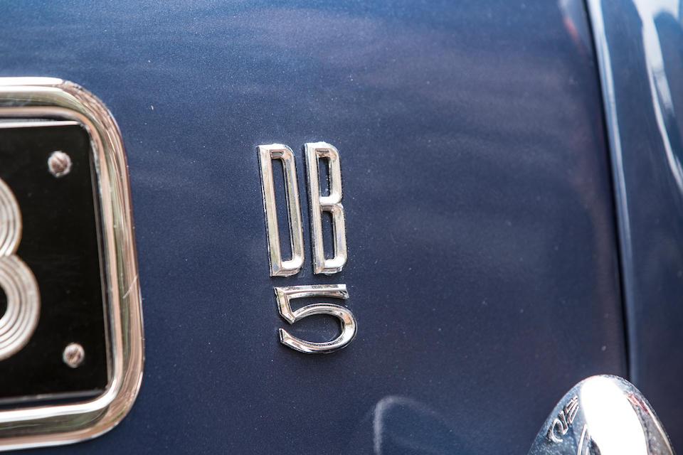 1964 Aston Martin DB5 Sports Saloon  Chassis no. DB5/1666/R