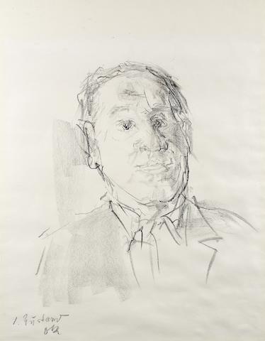 Bonhams Oskar Kokoschka 1886 1980 Portrait Von Josef