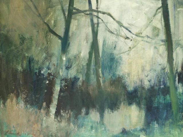Edward Seago, RWS (British, 1910-1974) The green pool