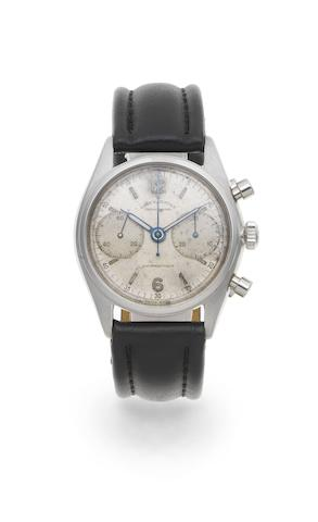 Rolex. A stainless steel manual wind chronograph wristwatch Ref: 4500, Circa 1946