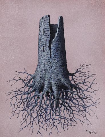 Rene Magritte (1898-1967) La folie Almayer (Executed in 1959)