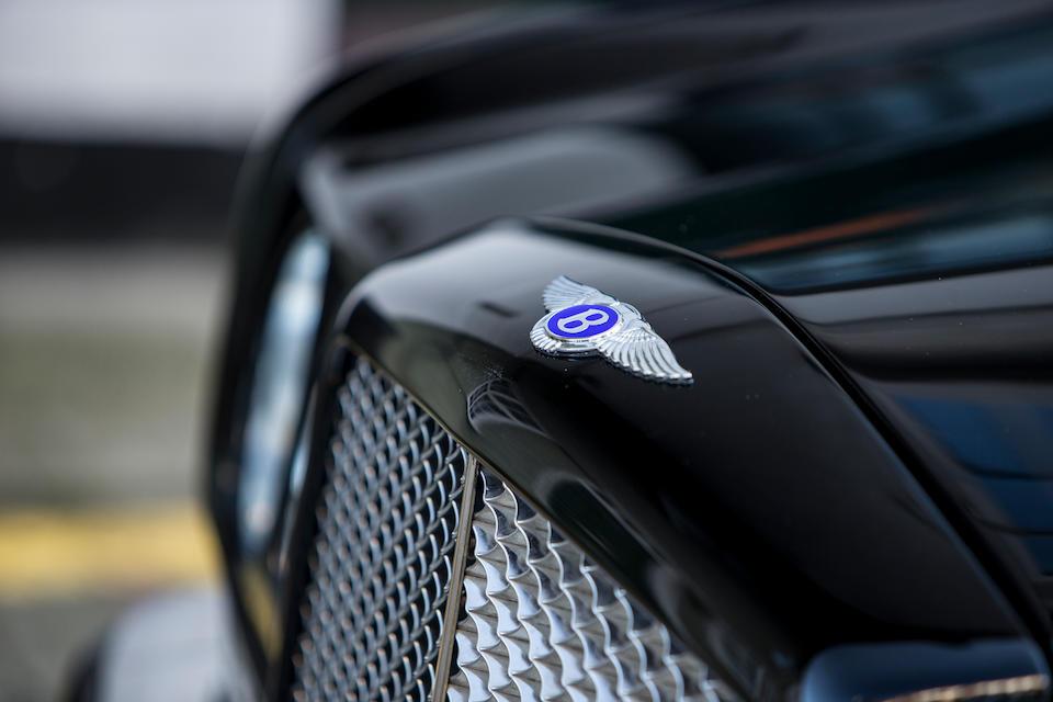 2002 Bentley Azure Convertible  Chassis no. SCBZK22E92CX01002