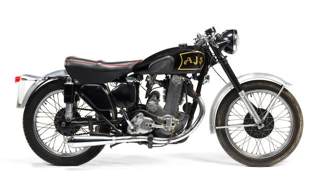 1951 Matchless-AJS 500cc 'Cammy' Special Frame no. 71609 Engine no. 33/10 567