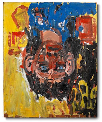 Georg Baselitz (German, born 1938) Heiße Ecke 1987