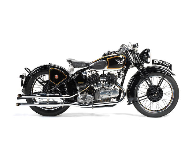 1937 Matchless 1,000cc Model X