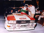 The ex-John Buffum, Hannu Mikola, Robert McBurney, David Sutton Motorsport Audi Rally Team,1981 Audi Quattro 2.2-Litre Rally Car  Chassis no. WAOZZZ85ZCA900146