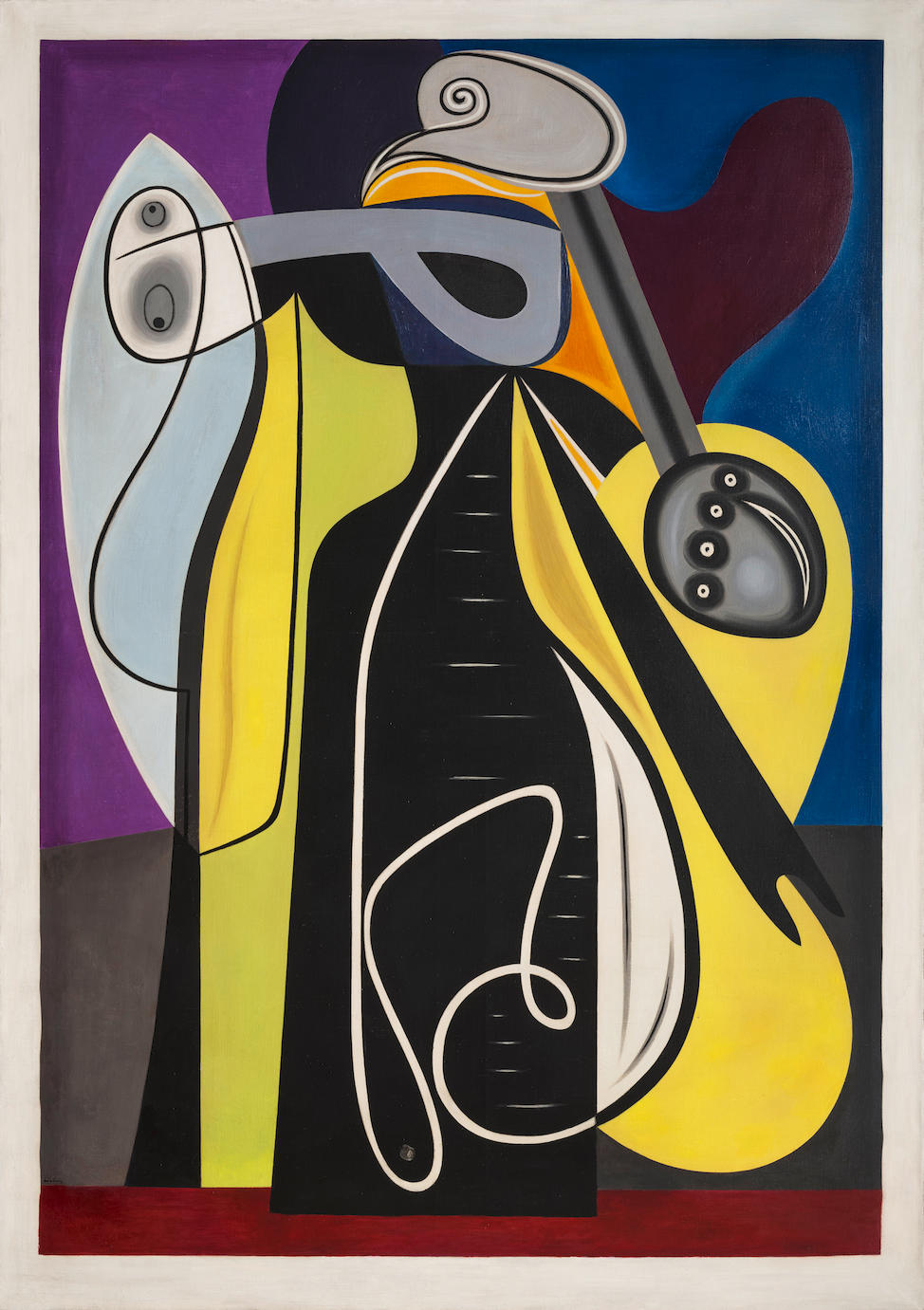 Auguste Herbin (1882-1960) Composition (Painted in 1928)