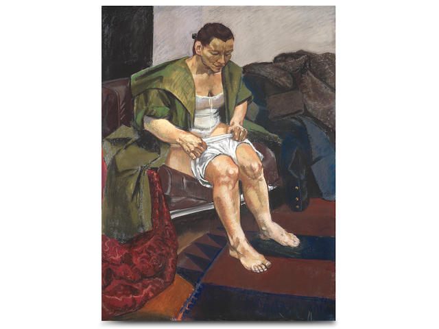 Paula Rego (British, born 1935) Obedient 1995