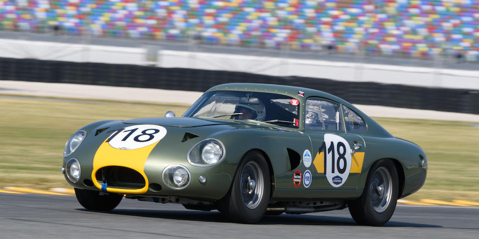 1961 Aston Martin  DP214 Replica GT Competition Coupé  Chassis no. DB4/618/R