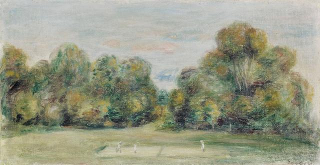 Pierre-Auguste Renoir (1841-1919) La partie de tennis (Painted circa 1895)