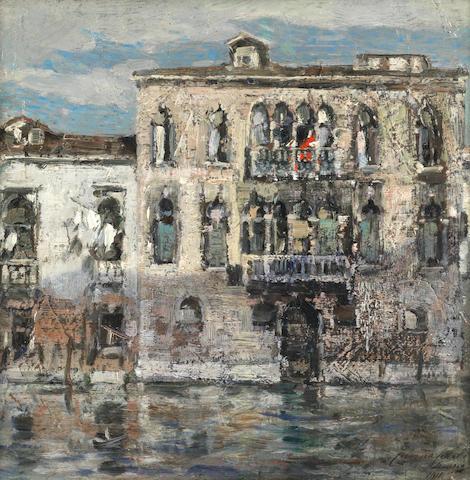 Emma Ciardi (Italian, 1879-1933) Venice