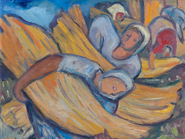 Irma Stern (South African, 1894-1966) Harvesters