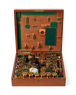 "A fine Powell & Lealand ""No. 1"" compound monocular/binocular microscope,  English,  dated 1897,"