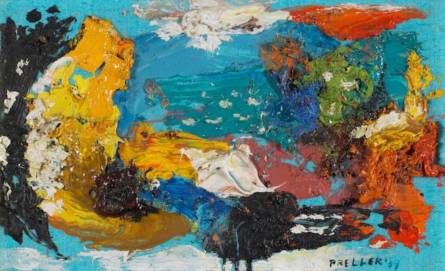 Alexis Preller (South African, 1911-1975) Santorini