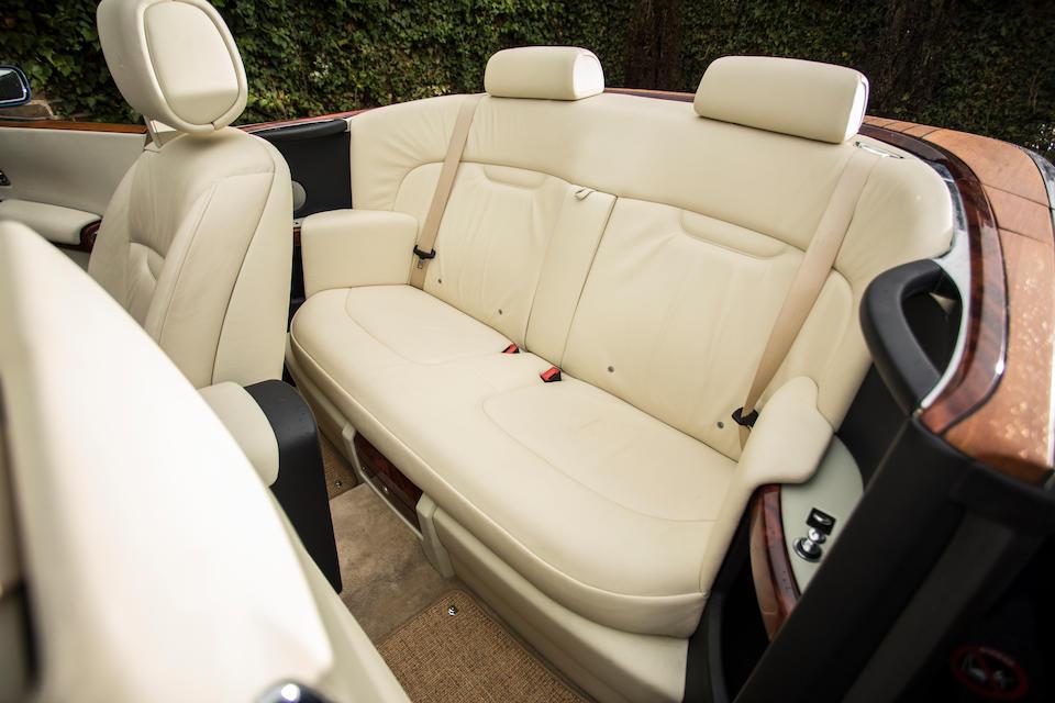 2007 Rolls-Royce Phantom Drophead Coupé  Chassis no. SCA2D68048UH07024