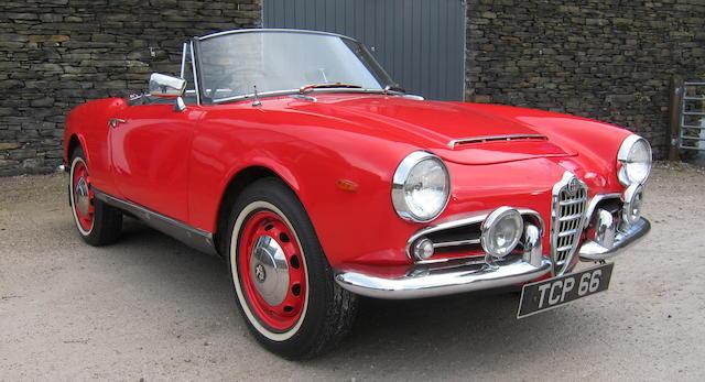 1964 Alfa Romeo Giulia Spider  Chassis no. AR383353