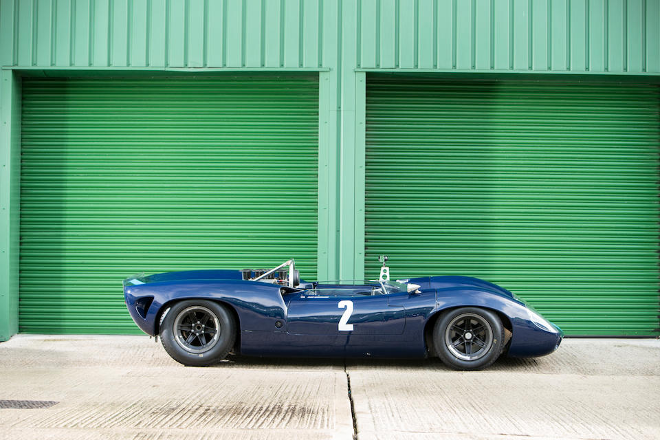 Offered by order of the creditors of the late Terence J O'Reilly; the ex-David Hobbs,1965 Lola T70 Mk1 Spyder  Chassis no. SL70/2