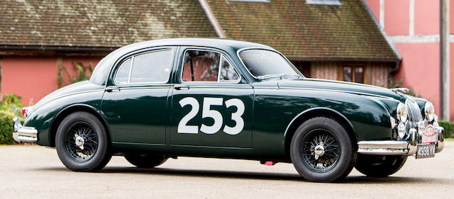 Offered by order of the creditors of the late Terence J O'Reilly;  the ex-Brown/Snusher/Arnold, 1958 Monte Carlo Rally,1957 Jaguar Mk1 3.4-Litre Sports Saloon  Chassis no. S-971263DN