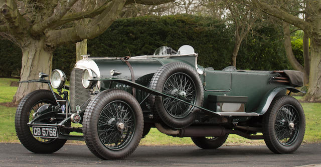 1924 Bentley 3-Litre Red Label Speed Model Tourer  Chassis no. 485