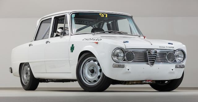 Alfa Romeo Giulia Super >> Bonhams Ex Jurgen End 1964 Alfa Romeo Giulia Ti Super
